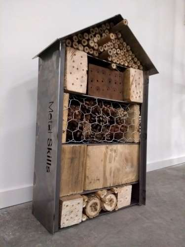 Insectenhotel Groot – Workshop